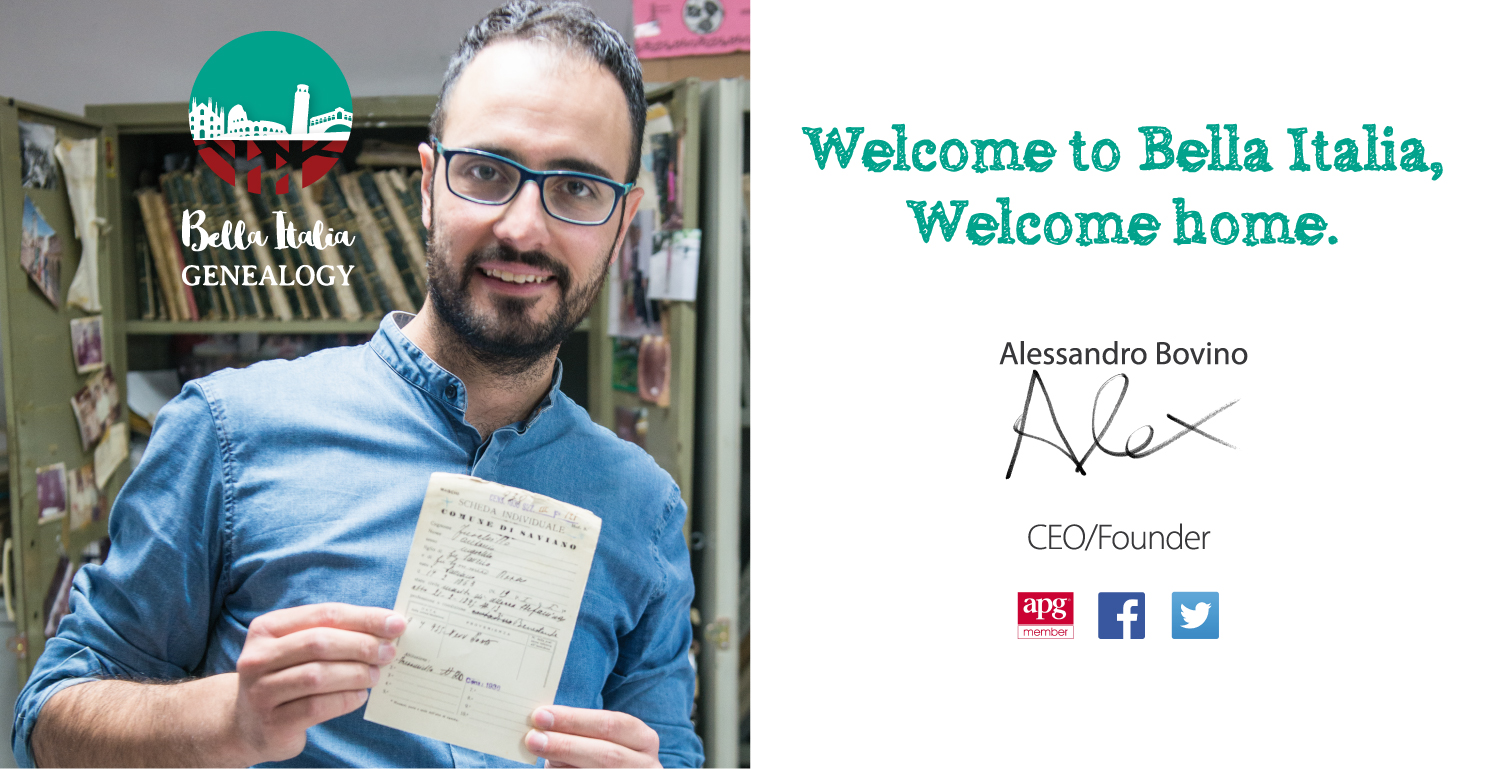 alessandro and welcome